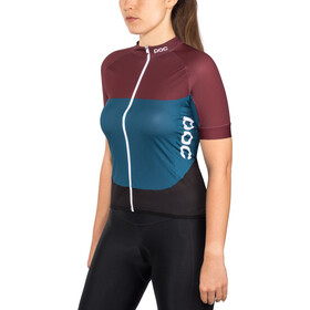 POC Essential Road SS Light Jersey Dam polypropylene red/draconis blue